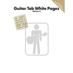 Guitar Tab White Pages – Volume 4 (Softcover TAB)