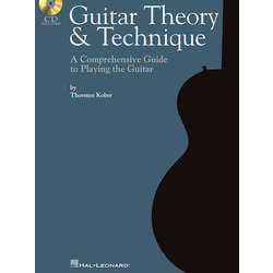 Guitar Theory & Technique w/CD - TAB