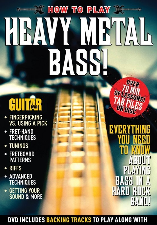 View larger image of Guitar World: How to Play Heavy Metal Bass!