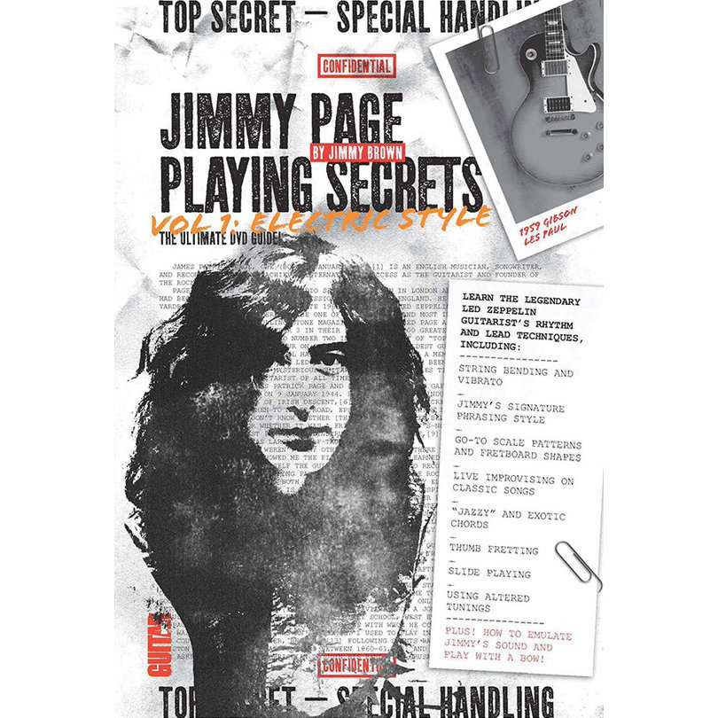 View larger image of Guitar World: Jimmy Page Playing Secrets, Vol. 1 Electric Style DVD