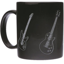 Guitars Mug - Black