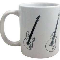 Guitars Mug - White