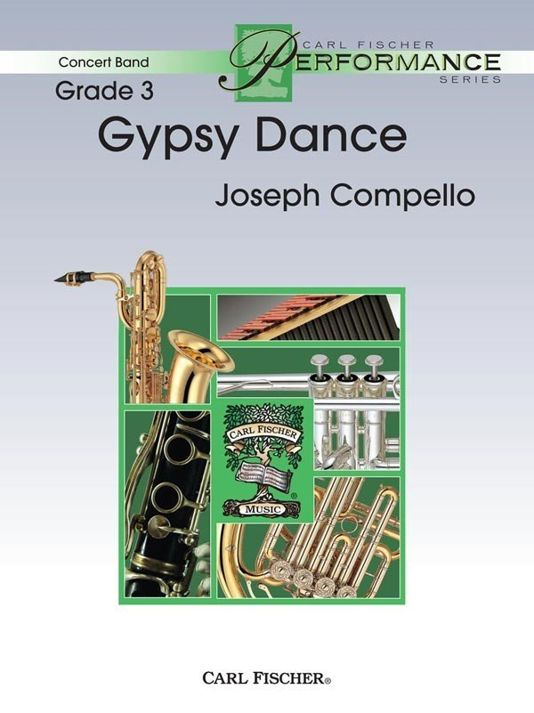 View larger image of Gypsy Dance - Score & Parts, Grade 3
