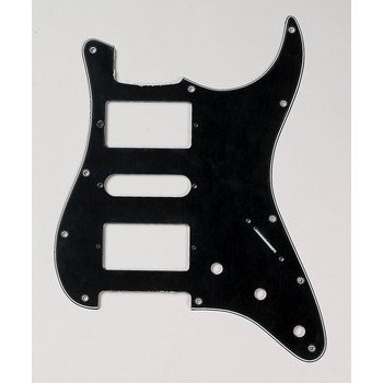 View larger image of H-S-H  Pickguard for Stratocaster - Black