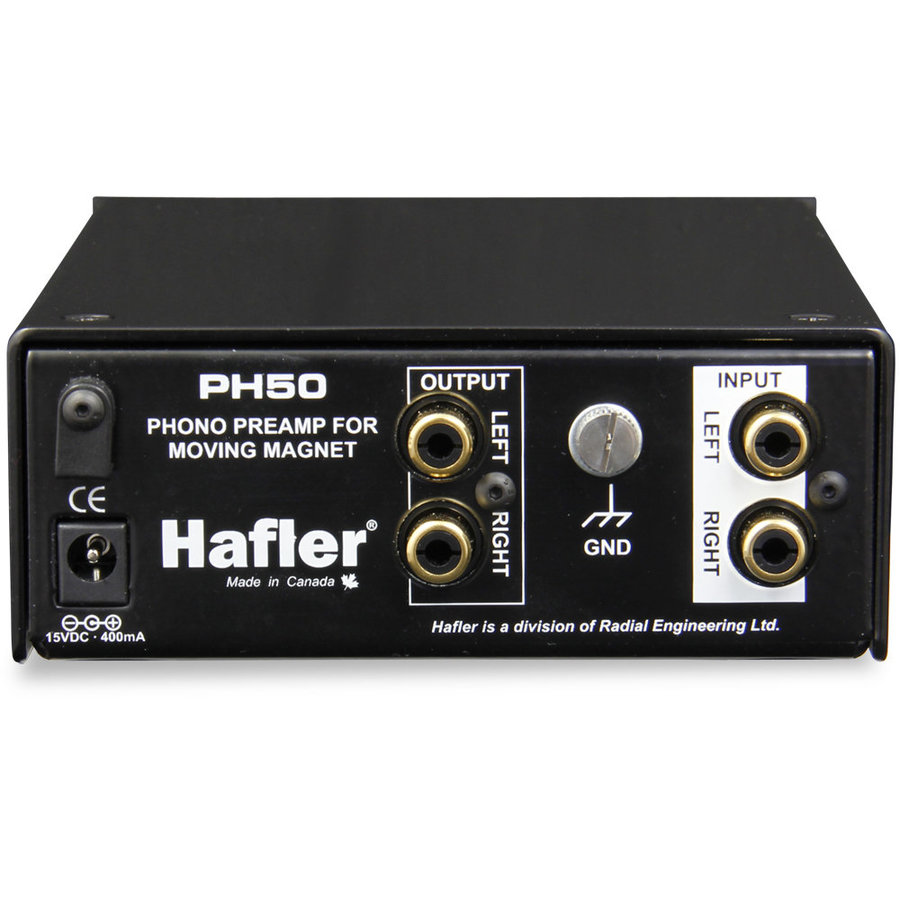 View larger image of Hafler PH50 Phono Preamp