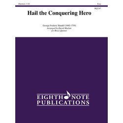Hail the Conquering Hero - (Brass Quintet)