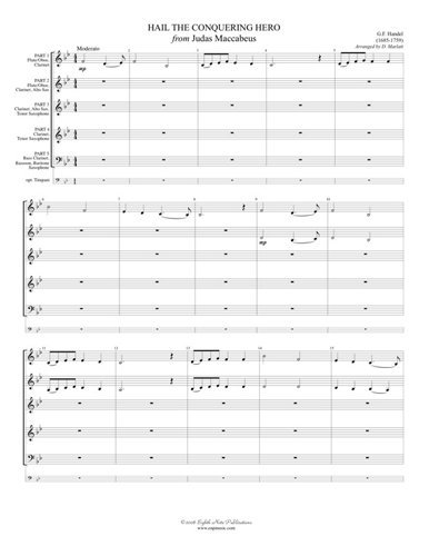 View larger image of Hail the Conquering Hero - Woodwind Ensemble