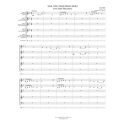 Hail the Conquering Hero - Woodwind Ensemble
