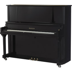 Hailun HU7P Upright Piano - Black