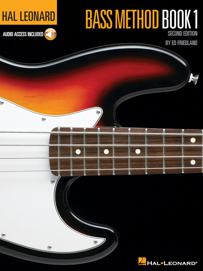 View larger image of Hal Leonard Bass Method Book 1 – 2nd Edition w/Online Audio