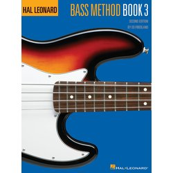 Hal Leonard Bass Method Book 3 2nd Edition - Book Only