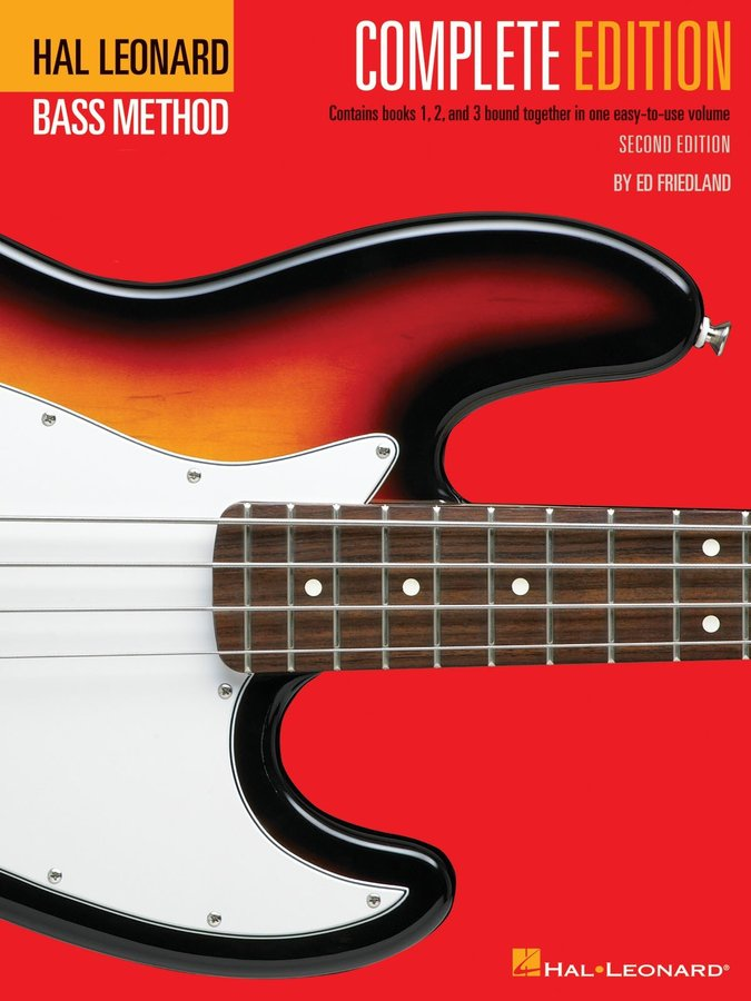 View larger image of Hal Leonard Bass Method - Complete (Book 1,2,3)