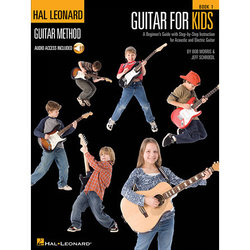 Hal Leonard Guitar for Kids - A Beginner's Guide with Step-by-Step Instruction