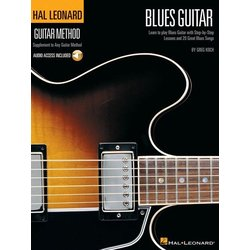 Hal Leonard Guitar Method – Blues Guitar w/Online Audio