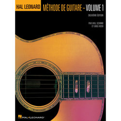 Hal Leonard Guitar Method Book 1 – French Edition