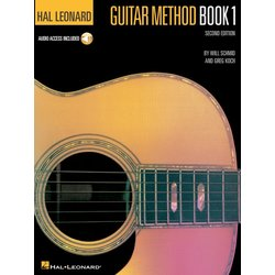 Hal Leonard Guitar Method Book 1 w/Online Audio