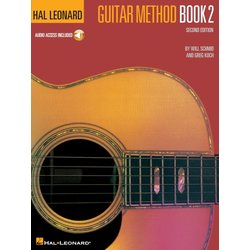 Hal Leonard Guitar Method Book 2 w/Online Audio