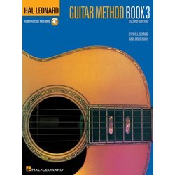 Hal Leonard Guitar Method Book 3 Book/Online Audio