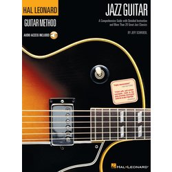 Hal Leonard Guitar Method – Jazz Guitar w/Online Audio