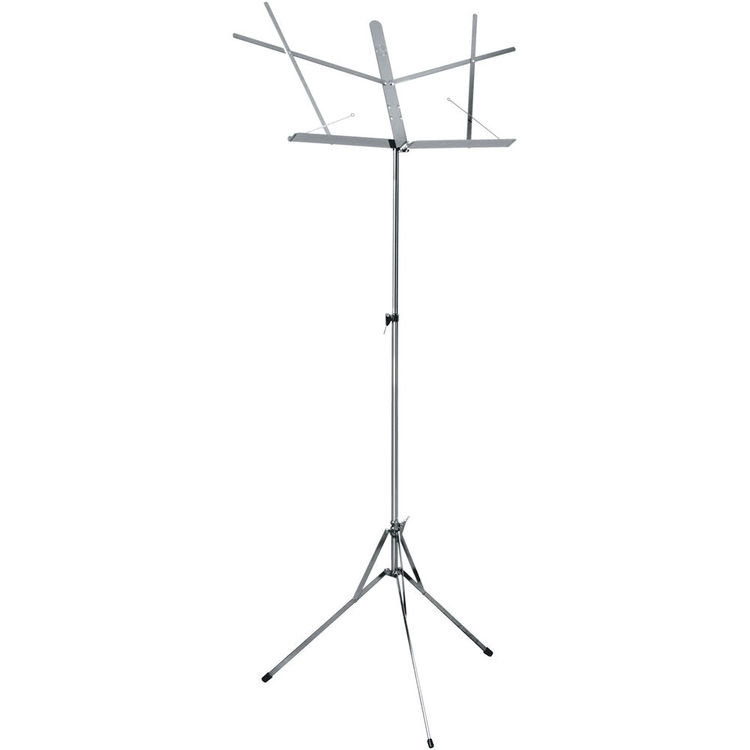 View larger image of Hamilton 400N Folding Music Stand - Chrome