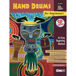 Hand Drums for Beginners w/CD