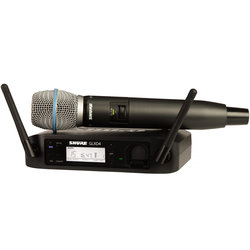 Handheld Wireless System with BETA87A Handheld Microphone - Z2 Band