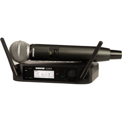 Handheld Wireless System with SM58 Handheld Microphone