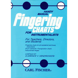 Handy Manual of Fingering Charts for Instrumentalists
