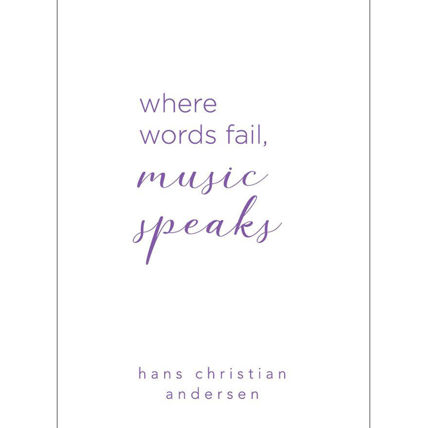 View larger image of Hans Christian Andersen Quote Greeting Card