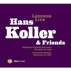 Hans Koller & Friends - Legends Live (Vinyl)