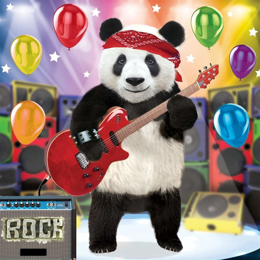 View larger image of Happy Birthday Card - Pop 3d Panda