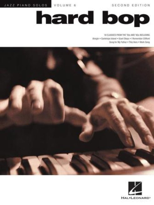 View larger image of Hard Bop (2nd Ed) - Jazz Piano Solo Series Volume 6