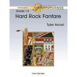 Hard Rock Fanfare - Score & Parts, Grade 1.5