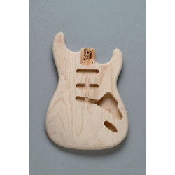 Hardtail Ash Replacement Body for Stratocaster