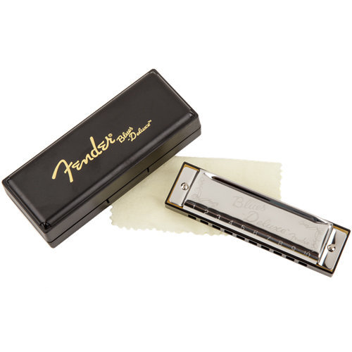 View larger image of Fender Blues Deluxe Harmonica - B Flat