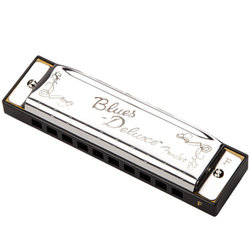 Fender Blues Deluxe Harmonica - F