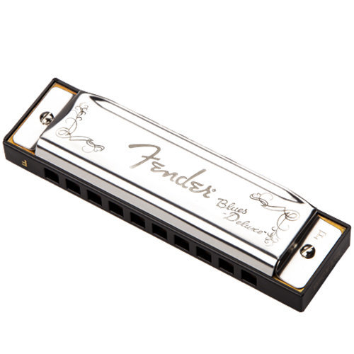 View larger image of Fender Blues Deluxe Harmonica - F