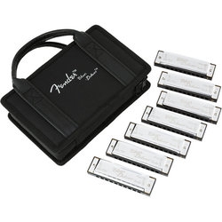 Fender Blues Deluxe Harmonica - 7 Pack