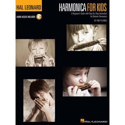 Harmonica for Kids - A Beginner's Guide with Step-by-Step Instruction for Diatonic Harmonica