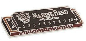 View larger image of Harmonica Pin