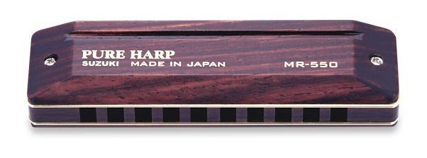 View larger image of Suzuki Pure Harp Harmonica - D