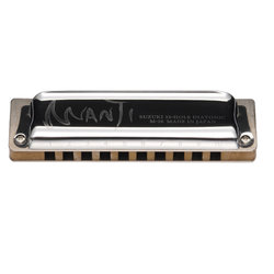 Suzuki Manji 10-Hole Diatonic Harmonica - C Major