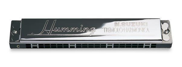 View larger image of Suzuki Special 21-Hole Humming Tremolo Harmonica - F#