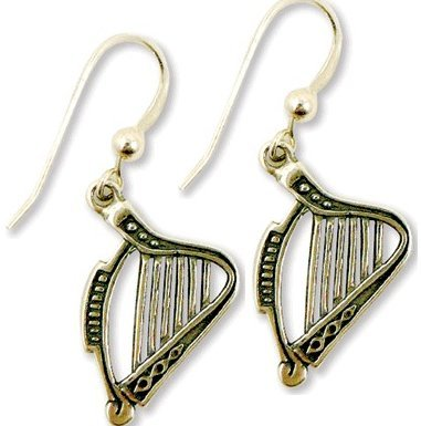 View larger image of Harp Sterling Silver Earrings