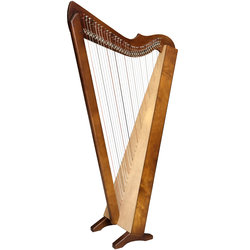 Harpsicle Brilliant! Harpsicle Harp - Dark Wood Stain