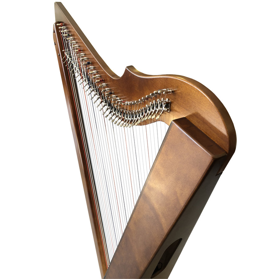 View larger image of Harpsicle Brilliant! Harpsicle Harp - Dark Wood Stain