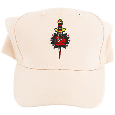 View larger image of Martin Sailor Jerry Hat - Cream