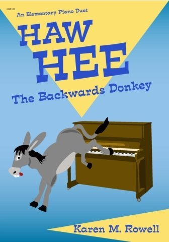View larger image of Haw Hee (The Backwards Donkey) - Piano Duet (1P4H)