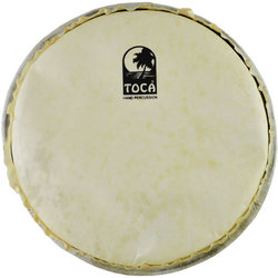 """Toca Goat Skin Head for Rope Tuned Djembe - 10"""""""