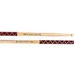 HeadHunters Hickory Classics 5B Extreme Grip Drumsticks